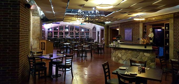 Roanoke Tx Italian Bistro Dining Room